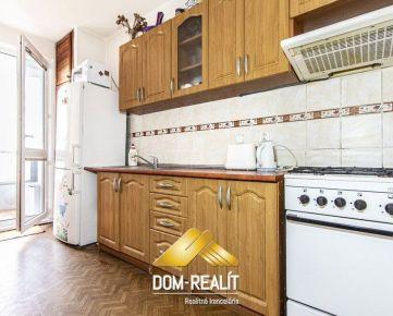 DOM-REALÍT ponúka 3izbový byt s dvoma ložiami na Dlhých dieloch, Majerníkova ul.