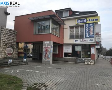 NA PRENÁJOM : Obchodný priestor na Hospodárskej ulici za výhodnú cenu 290.- Eur mesačne.