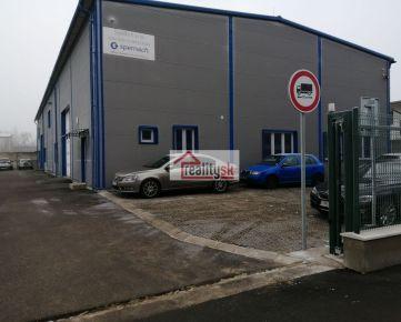 Prenajmeme výrobno-skladové priestory v novej hale