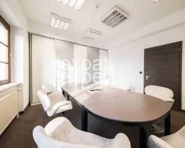 Exkluzívne kancelárie pod hradom 215 m2, krásny výhľad, terasa, parking