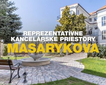 NA PRENÁJOM REPREZENTATÍVNE KANCELÁRSKE PRIESTORY MASARYKOVA