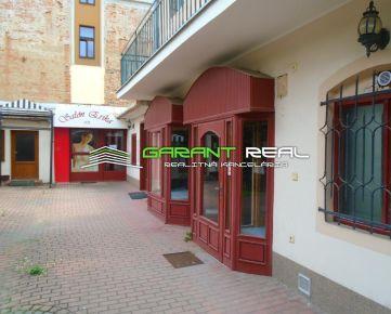 GARANT REAL - prenájom obchodný priestor, 100 m2, Prešov, Svätoplukova ulica