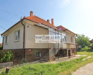 Predaj rodinného domu v obci Mankovce, okres Zlaté Moravce