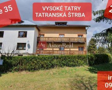 EXKLUZÍVNE - Penzión Vysoké Tatry - Tatr. Štrba, 2555 m2
