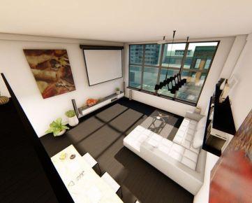 Inovatívne bývanie mezonetového typu v centre Košíc