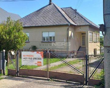 Rodinný dom na predaj v obci Želovce v okrese Veľký Krtíš