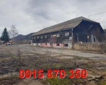 Na predaj priemyselný areál pri Banskej Bystrici