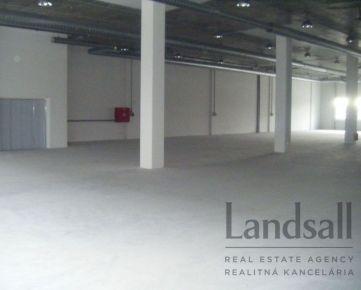Skladový priestor vysokého štandardu na poschodí, ul. Stará Vajnorská, 405m2