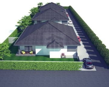 Direct Real - 4 izbový rodinný dom  typu dvojdom kompletne dokončený na kľúč v obci Vieska smerom na Šamorín