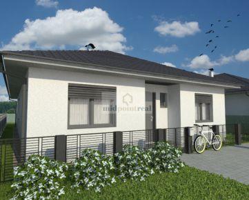MIDPOINT REAL – Predaj 5i rodinného domu - novostavby bungalovu v Malackách