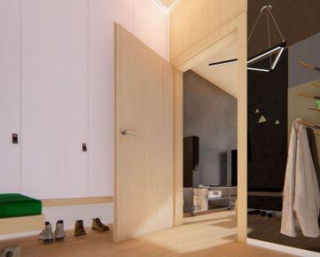 1 izbový byt (4.3) – RETRO – NOVOSTAVBA