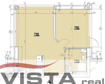 Predaj apartmánoveho bytu 45,5m2 - Silvanium I.