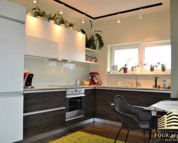 Novostavba na začiatku Devínskej Novej Vsi - slnečný, veľkorysý 3 izbový byt s loggiou, pivnice