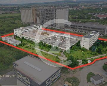 PREDAJ - Priemyselný areál bývalých pekární MEDEA v Košiciach vo výbornej lokalite | Video obhliadka