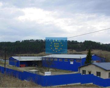 Predáme  v Spišskom Podhradí ( Levoča) výrobný objekt ( 2 haly, garáže ), pozemok o výmere 8.732 m2, všetky inžinierske siete