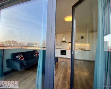 Prenájom nový  disajnový priestranný dvojizbový byt s balkónom v novostavbe Zimák Rezidencie ul. Pri starej prachárni v Novom meste .