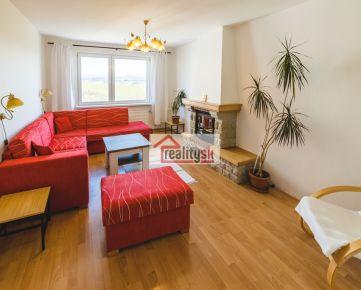 Krásny 3-izbový byt s krbom na prenájom - 550 €/mesiac