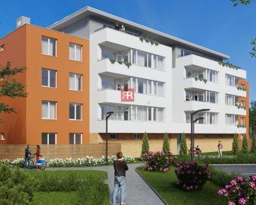 HERRYS - Na predaj 2-izbový byt v projekte BYTY BYSTRICKÁ 2 v tichej časti Devínskej Novej Vsi