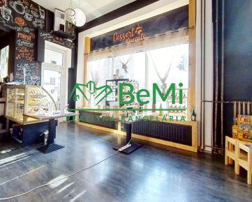 BeMi reality Vám ponúka na predaj obchodné priestory v Prešove.062-18-RAS