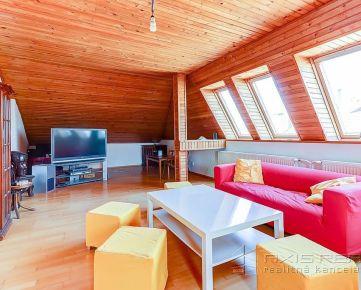 360° VIRTUÁLNA PREHLIADKA:: Priestranný 3-izb. podkrovný byt, BA IV. Karlova Ves, Staré Grunty