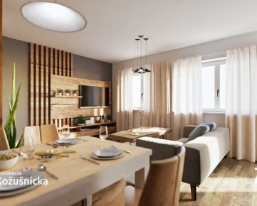 NA PREDAJ   1 izbový byt 38m2 + balkón Rezidencia Kožušnícka / dom A