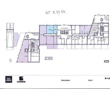 Obchodno - prevádzkové priestory na prízemí v novostavbe BA III, Nové Mesto, Račianska ulica - projekt Guthaus