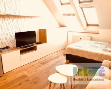 RK KĽÚČ - NOVÁ PONUKA - Exkluzívne iba u nás - 1 izbový nadštandartný byt v centre mesta