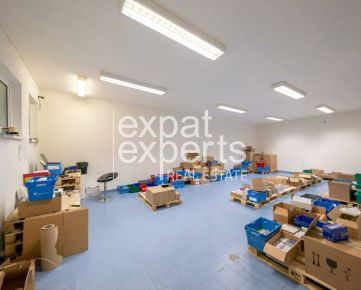 Obchodno skladové priestory 339m2, klimatizácia, prístup s kamiónom