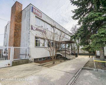 EXNÁROVÁ ul. – Ružinov, 1.819 m2 ÚP, 3 podlažná budova, výborná INVESTIČNÁ PRÍLEŽITOSŤ