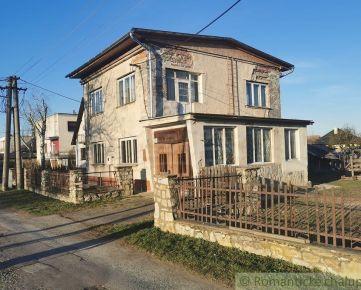 Rodinný dom v slušnej obci so započatou rekonštrukciou - Veľká Čalomija
