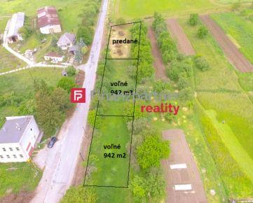 Exkluzívne ponúkame na predaj - slnečný pozemok v Brestove 942m2 F036-14-ANM