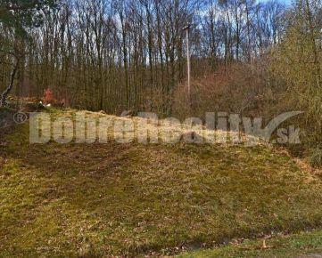 Pozemok na výstavbu rekreačnej chatky v chatovej osade Modrová