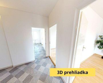 REZERVOVANÉ 3 izbový byt s lodžiou a šatníkom, s krásnymi výhľadmi OKAMŽITE VOĽNÝ