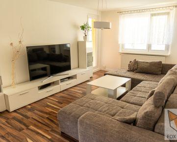FOX - EXKLUZÍVNE * 4 izbový byt * Juraja Slottu * kompletná rekonštrukcia