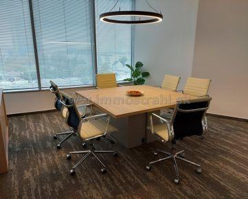 Reprezentatívny kancelársky priestor 209,54 m2 na prenájom na Tomášikovej ulici v objekte LAKE SIDE I