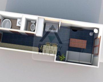 Novostavba 1 - izbový byt / 34 m2 / Svrčinovec