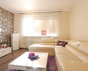 HERRYS - Na prenájom zariadený 3 izbový byt s loggiou v Petržalke