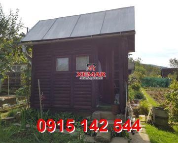 Na predaj záhradná chatka s pozemkom v os. vlastníctve v Detve