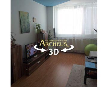 3D videoprehliadka - 3 IZBOVÝ BYT – KOŠICE–TERASA, Trieda SNP