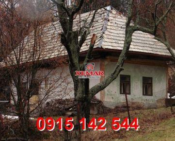Na predaj malebná chalúpka-Vígľašská Huta- Kalinka-Znížená cena!!