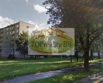 Rezervovný  TOP PONUKA – Byt  3 izbový tehlový byt  82 m2 s loggiou, Uhlisko Banská Bystrica – Cena 190 000€