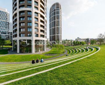 REZERVOVANE SVOBODA & WILLIAMS I Moderný 2-izbový byt s loggiou s unikátnym výhľadom v Sky Park-u, Bratislava