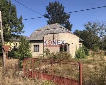 KONEX REALITY – Starý dom s veľkým pozemkom – Blatné Revištia