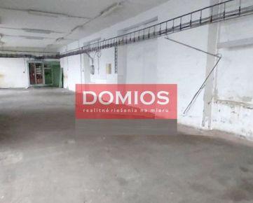 Prenájom výrob. priestorov (128,71 m2, + pozemok 152,90 m2, parking)