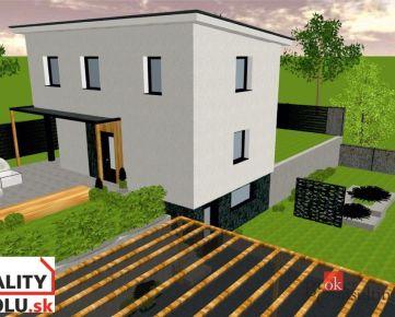 Rodinný dom na predaj, Košice – Kalvária, 86 m2,  pozemok 400 m2, novostavba
