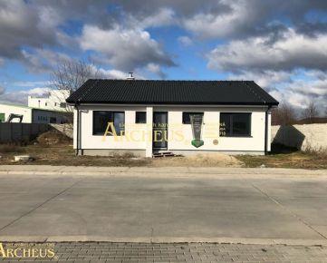4-izbový dokončený a slnečný bungalov, novostavba - Hrubá Borša pri Senci