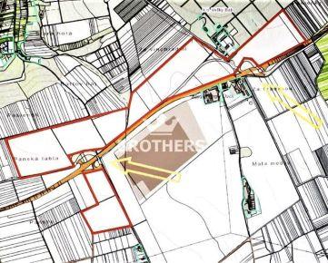 Investičný pozemok na diaľnici R1 - 1 200 000 m2 - Báb, okres Nitra