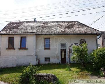 Rekreačný dom v tichej časti obce Chtelnica