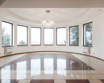 Luxusná 4i Villa v Bratislave na prenájom, bazén, fitness, sauna