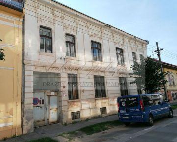 Dražba rozostavaného domu v centre Košíc